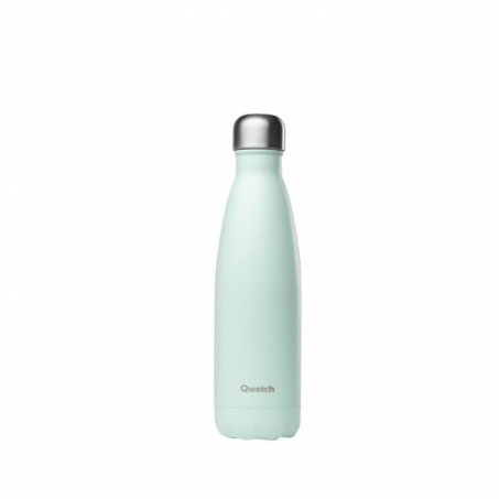 Qwetch - Isolerad Flaska i Rostfritt Stål Pastel Mint 500 ml