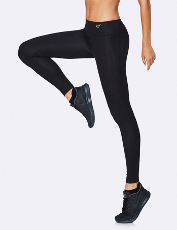 Boody Active Tights i Bambu Svart