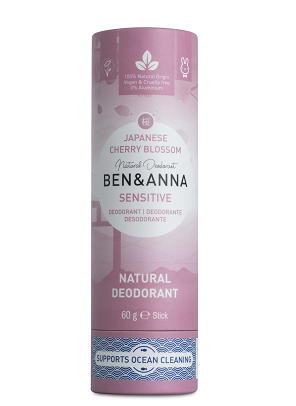 Ben & Anna Natural Deodorant Sensitive, Japanese Cherry Blossom